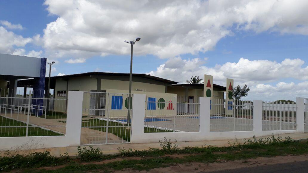 Creche de Cana Brava está com obras de infraestrutura concluídas | Prefeitura de Macaíba